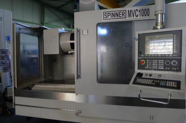Фото Вертикально-обрабатывающий центр SPINNER MVC 1000