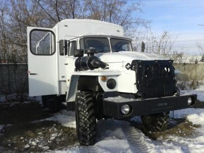 Фото Вахтовый автобус Урал Е-4,  2016 г. в.  В наличии от завода изготовителя