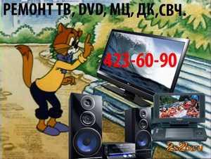 Фото Ремонт любых ТВ, DVD, МЦ, СВЧ, НЕДОРОГО. СКИДКИ, Нижний Новгород