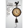 Фото - Часы настенные на кронштейне с петухом